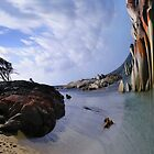 Binalong Bay, Tasmania by Caro