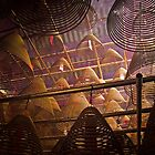 Spiral Incense coils - Hong Kong by Donny Ocleirgh