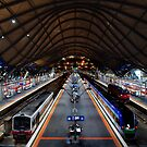 Southern Cross Train Station by Hien Nguyen