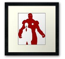 IRON MAN 1.1 Framed Print