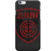 STALKER - Duty Faction Patch iPhone Case/Skin