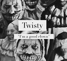 Twisty the Clown phone case by opalskull