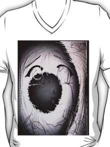 Anime in Sumi-e with adjusted lighting. T-Shirt