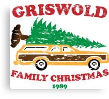 Griswold Family Christmas Canvas Print