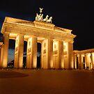Brandenburger Tor in Berlin by venkman