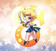 Chibi Super Sailor Uranus by MakoFufu