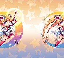 Chibi Super Sailor Moon by MakoFufu