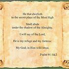 Psalms 91:1&2 by Onediamond2