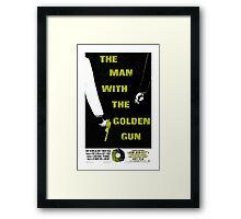 The Man With The Golden Gun 007 Framed Print