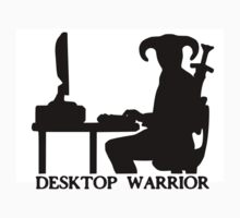 Desktop Warrior by antiquitas