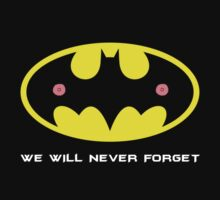 Bat Nipples - We Will Never Forget by Lee Jones