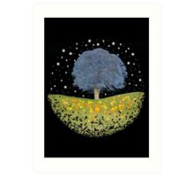 Starry Night Sky Art Print