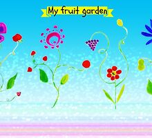 My fruit garden by JoAnnFineArt