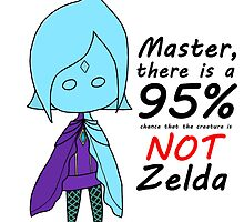Master, there is a 95% chance the creature is NOT Zelda by shroomsoft