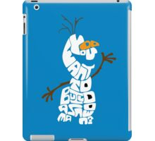 Do You Want To Build A Snowman? - Frozen iPad Case/Skin