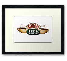 Central Perk Framed Print