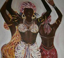African Dance Trio by samuta