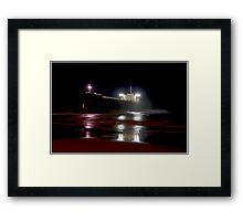 Pasha Bulker at Night Framed Print