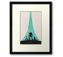 Flawless Cowboy Framed Print