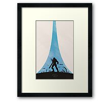 Tsavo Highway Framed Print