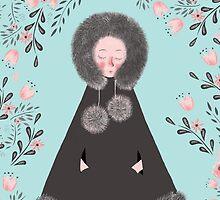 WINTER GIRL by Jane Newland