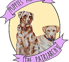 Puppies Against Patriarchy  by bambibones