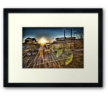 White Bay Sunrise 1 Framed Print