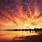 Splendour Of Dawn - Lake Albert, Meningie by KathyT