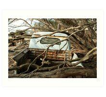 Austin A70 Hampshire Ute, Tray Art Print
