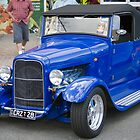 The Blue Ute by Matthew Setright