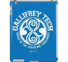 Gallifrey Tech - College Wear 01 iPad Case/Skin