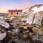 Seamans Hut, Mt Kosciuszko, New South Wales, Australia by Michael Boniwell