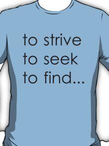 Ulysses (Black Sans Serif) T-Shirt