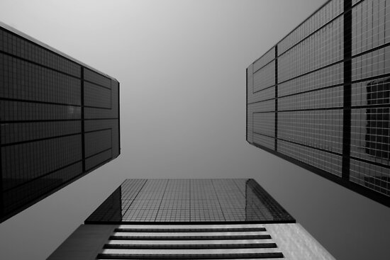 Looking Up v2 - Wan Chai, Hong Kong by Jonathan Russell