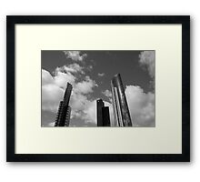 3 Towers Framed Print