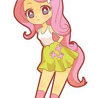 Fluttershy - My Little Pony by Opeiaa