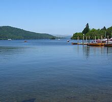 Lake Windermere by bazzanoid