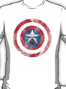Cap America Shield with star T-Shirt