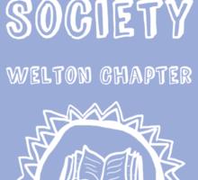 Society Crest (Lavender) Sticker