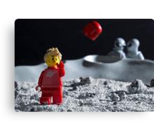 Lego Astronaut Canvas Print