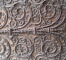 Porte de la Cathédrale Notre Dame de Paris by randalx