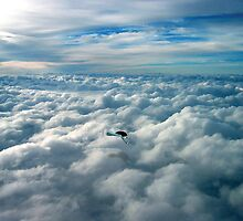 Above the clouds - Prints and Cards by alphallama