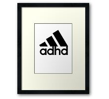 ADHD Framed Print