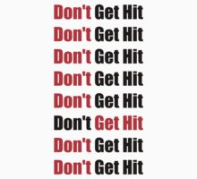 Don't Get Hit  (Isai) - Red/Black by ilikewinning2
