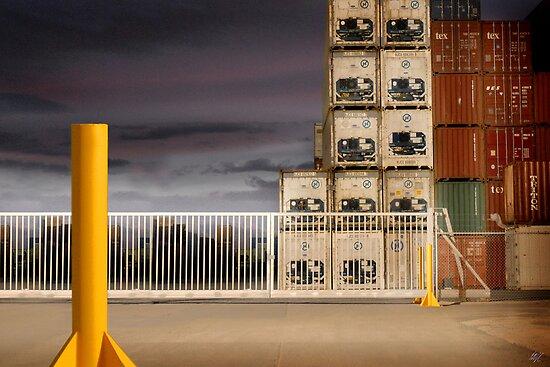 Yellow Pole by Paul Vanzella