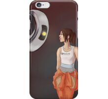Chell and Glados iPhone Case/Skin