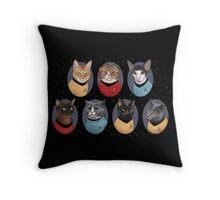 Star Trekitties Throw Pillow