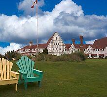 Keltic Lodge, Cape Breton, NS by Harv Churchill