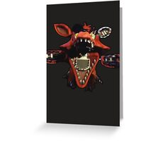 Five nights at Freddy's 2: Foxy Greeting Card