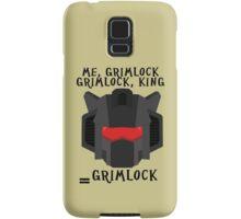 Me, Grimlock Samsung Galaxy Case/Skin